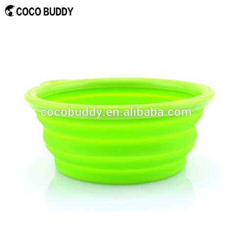 wholesale silicone wholesale supreme collapsible silicone pet food bowl