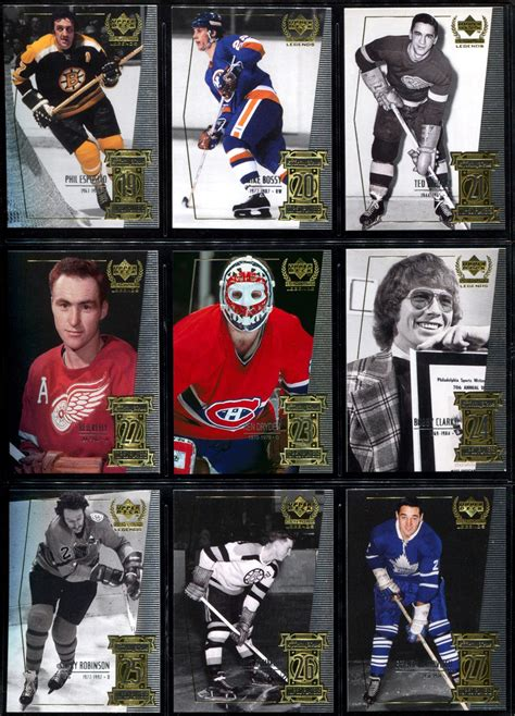 make a hockey card lost cards 1999 2000 deck century legends 23 ken
