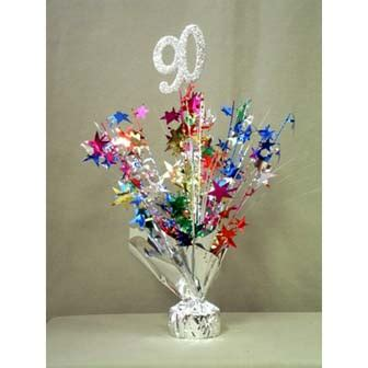 90th birthday centerpiece ideas 90th decorations accessories supplies 90th