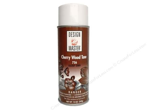 spray painting wood design master colortool spray paint cherry wood tone 12 oz