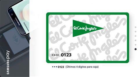 tarjeta de compras del corte ingles la tarjeta de el corte ingl 233 s se suma al pago por m 243 vil de