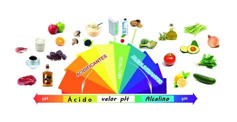 tabla del ph de los alimentos el ph de los alimentos tabla alcalino