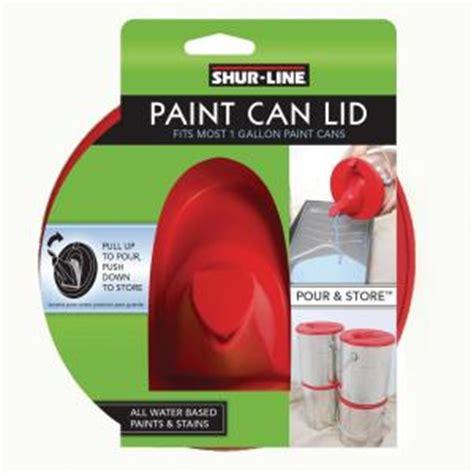 home depot paint pourer shur line gallon paint can lid 1783844 the home depot