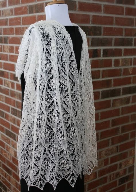 lace scarf knitting pattern all knitted lace pattern release quatrefoil lace scarf
