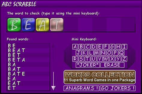 abc scrabble sreenshot abc scrabble 1 0i us letter letters word words