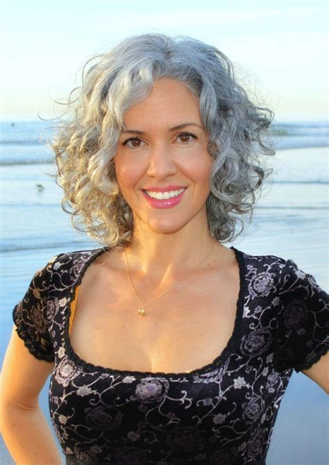haircut for thick frizzy gray hair 17 best images about curly gray hair on pinterest