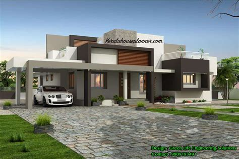 house designer contemporary kerala house design at 1955 sq ft idukki