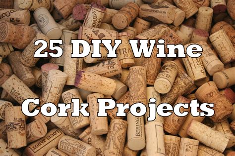 craft projects with wine corks wine cork crafts home design and decor reviews