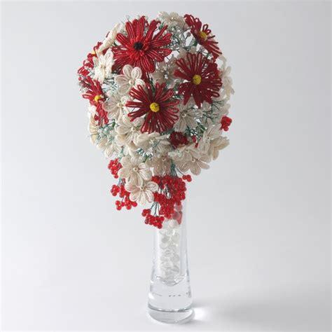 bead flowers teardrop bouquet kit beadflowers dean