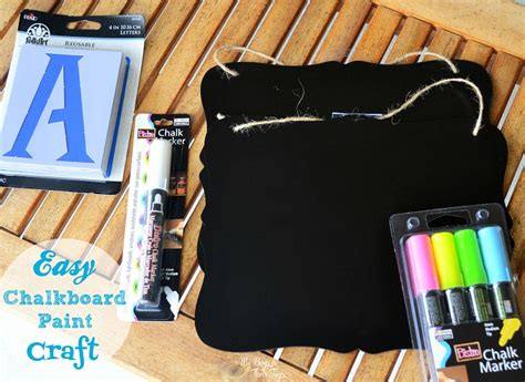 chalkboard paint crafts family portraits easy chalkboard paint craft my boys