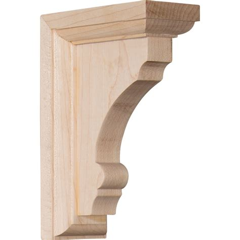 woodworking brackets ekena millwork bktwtm thompson wood bracket corbels and
