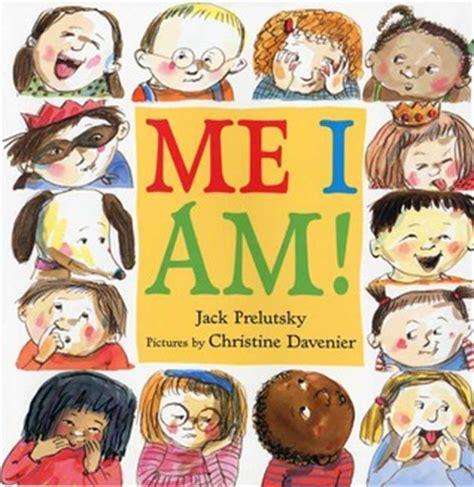 picture me book me i am by prelutsky reviews discussion