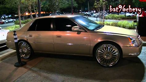 Cadillac On Rims by Cadillac Dts On 24 Quot Forgiato Autonomo Wheels 1080p Hd