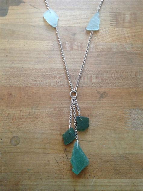 how to make jewelry out of sea glass sea glass jewelry