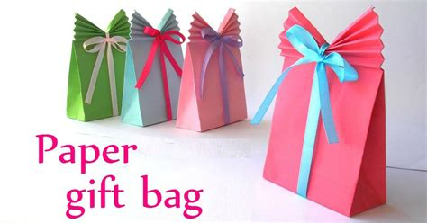 how to pack gifts that s a wrap how to make your own gift bag it s so easy