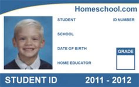 make your own student id card 1000 images about work on homeschool cards