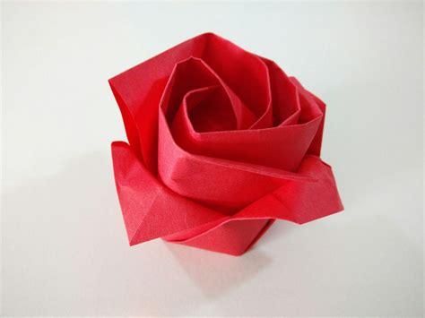 rosa de origami rosa de papel comohacerorigami net