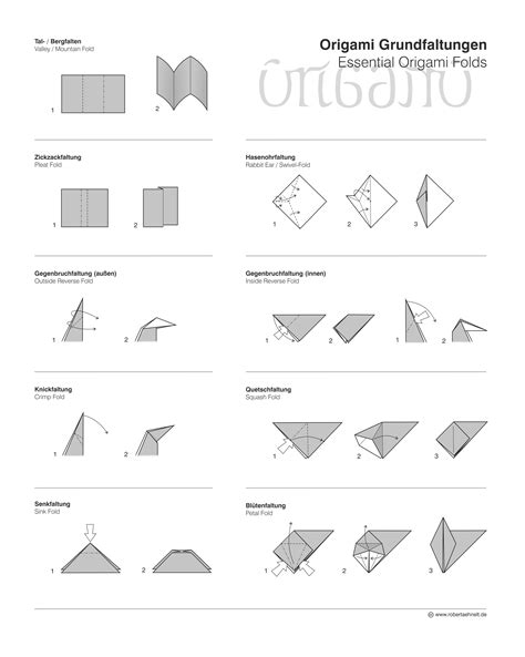 origami techniques paper folding techniques architecture techniques and