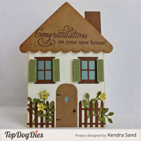 how to make a house out of cards 2 scrap n make cards tdd new home shaped card
