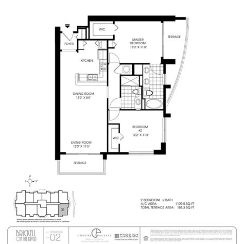 brickell on the river condo floor plans