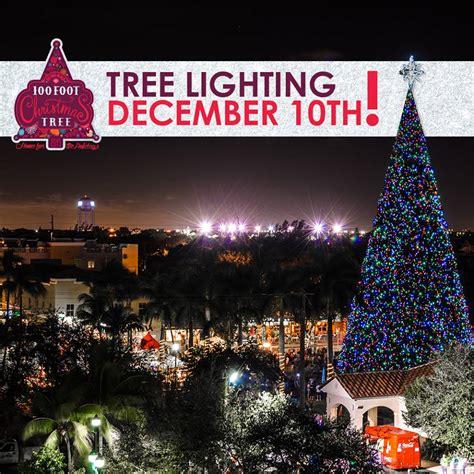 delray tree lighting delray 100ft tree lighting ceremony