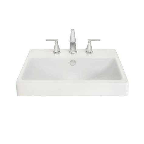 white drop in kitchen sink shop aquasource white clay drop in rectangular