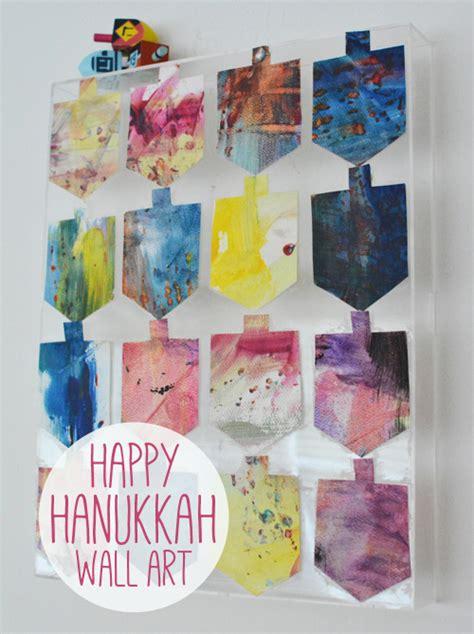 hanukkah crafts for 10 diy hanukkah decorations tip junkie