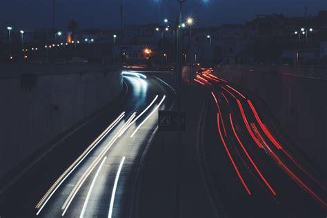 paint nite hton roads free photo light city road lights free image