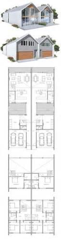 Sloped Lot House Plans 25 best ideas about duplex house plans on pinterest
