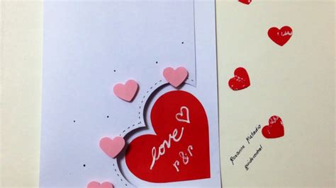 how to make a card for your crush make an easy card diy crafts guidecentral