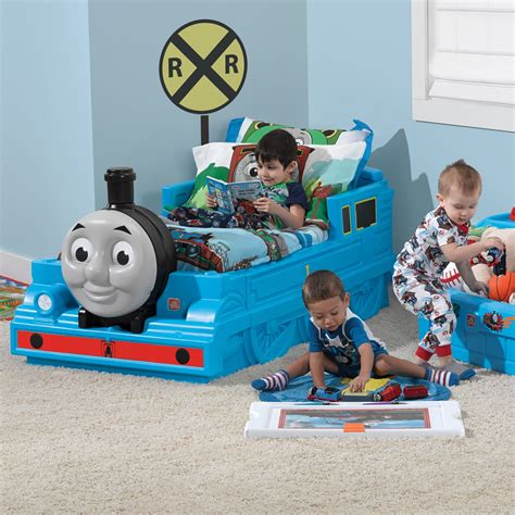 the tank engine bed set the bed step2