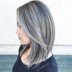 pictures of grey hairstyles with pink highlights can you highlight grey hair blonde
