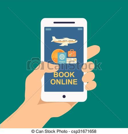 picture ticket booking clipart vector of booking travel or ticket
