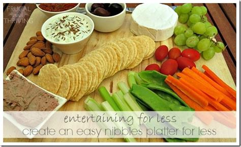 nibbles for create an easy nibbles platter on a budget