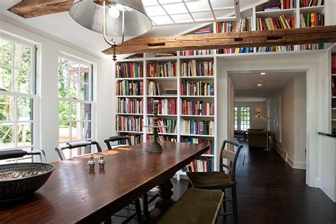 bookshelves in dining room 25 dining rooms and library combinations ideas inspirations