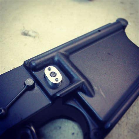 button magazine safemod mag lock button allstar tactical llc