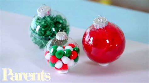easy home made ornaments easy ornament ideas parents