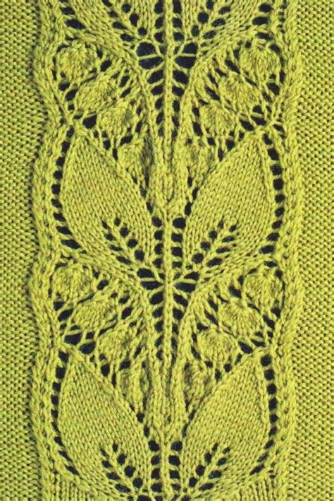 knit lace pattern 25 best ideas about lace knitting stitches on