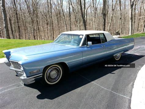 1968 Cadillac Coupe 1968 cadillac coupe de ville