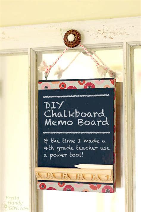 diy chalkboard memo board chalkboard memo board the time i made a 4th grade