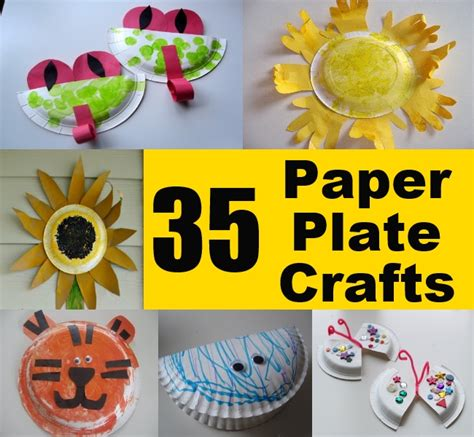 easy paper plate crafts for 35 easy and unique paper plate crafts for