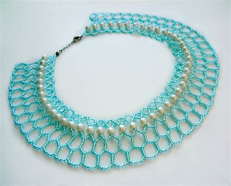 beading tutorials free pattern for necklace azul magic bloglovin