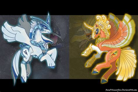 gold pony silver pony gold pony by renepolumorfous on deviantart