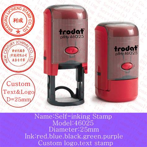 self ink rubber st price free shipping custom logo st self inking sts 46025