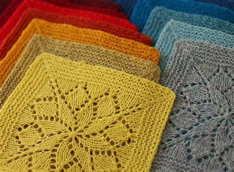 can you knit a square mix and match these knitted squares for any project