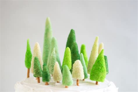 cake tree decorations marzipan tree cake decorations diy