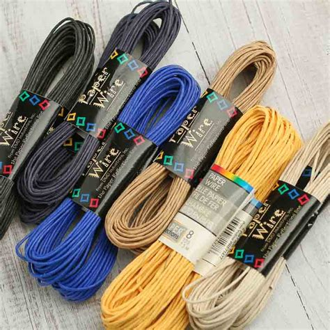 twisted craft paper assortment of craft paper twist wire wire rope