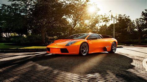 Lamborghini Murcielago Orange Car Wallpapers   1920x1080