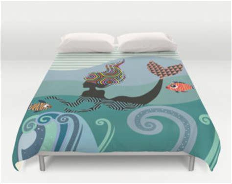 mermaid size comforter set mermaid bedding etsy