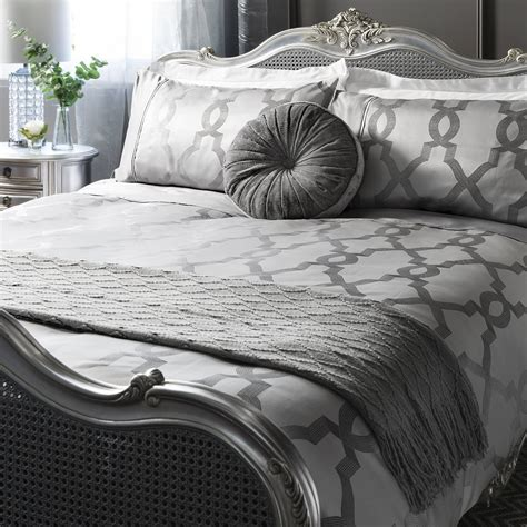 jacquard bedding set luxury jacquard quatrefoil duvet quilt cover bedding bed